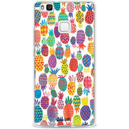 Casetastic Softcover Huawei P9 Lite - Happy Pineapples
