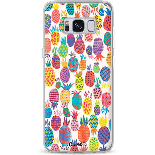 Casetastic Softcover Samsung Galaxy S8 - Happy Pineapples