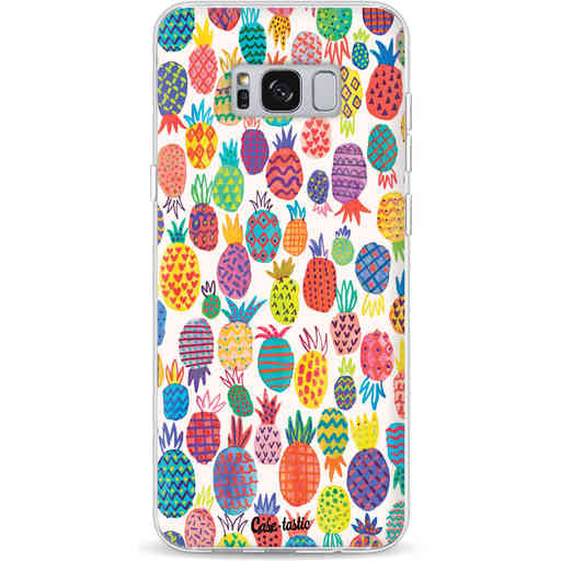 Casetastic Softcover Samsung Galaxy S8 Plus - Happy Pineapples