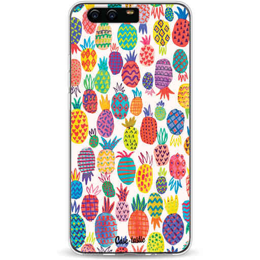 Casetastic Softcover Huawei P10 - Happy Pineapples