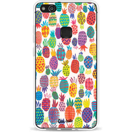 Casetastic Softcover Huawei P10 Lite - Happy Pineapples