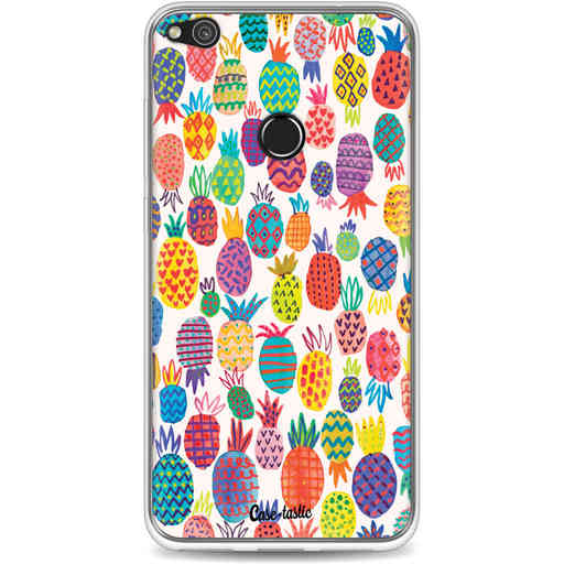 Casetastic Softcover Huawei P8 Lite (2017) - Happy Pineapples