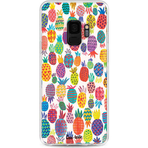 Casetastic Softcover Samsung Galaxy S9 - Happy Pineapples