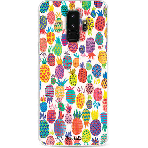 Casetastic Softcover Samsung Galaxy S9 Plus - Happy Pineapples