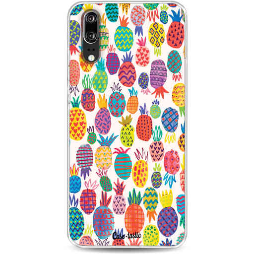 Casetastic Softcover Huawei P20 - Happy Pineapples