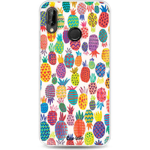 Casetastic Softcover Huawei P20 Lite - Happy Pineapples