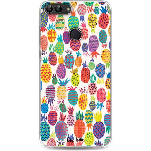 Casetastic Softcover Huawei P Smart - Happy Pineapples
