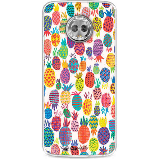 Casetastic Softcover Motorola Moto G6 - Happy Pineapples
