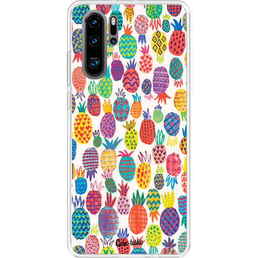 Casetastic Softcover Huawei P30 PRO - Happy Pineapples