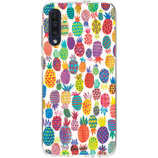 Casetastic Softcover Samsung Galaxy A50 (2019) - Happy Pineapples