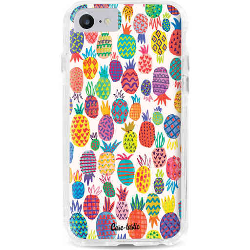 Casetastic Dual Snap Case Apple iPhone 7 / 8 - Happy Pineapples