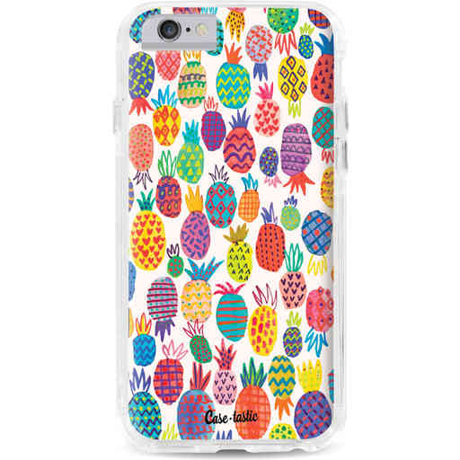 Casetastic Dual Snap Case Apple iPhone 6 / 6s - Happy Pineapples