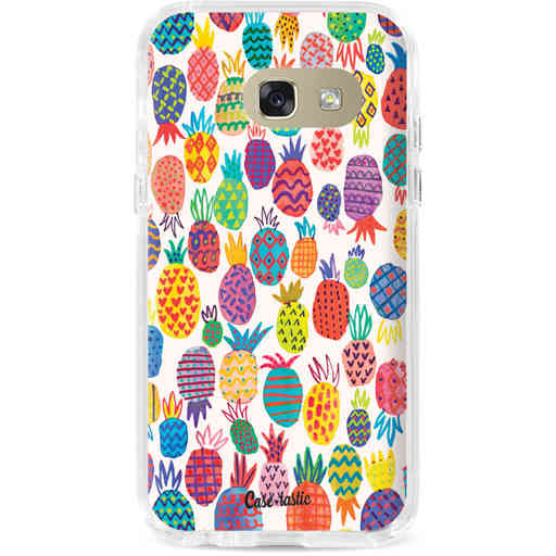 Casetastic Dual Snap Case Samsung Galaxy A3 (2017) - Happy Pineapples