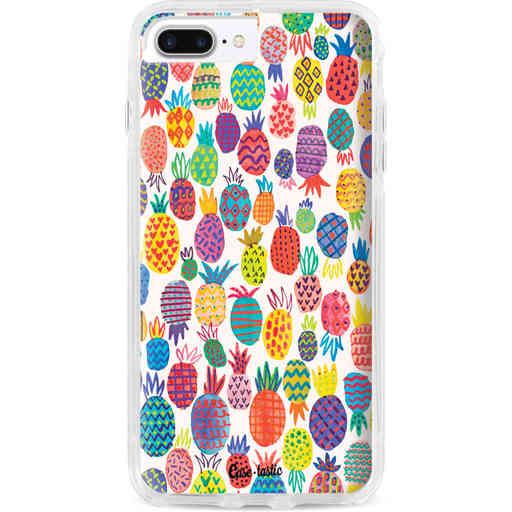 Casetastic Dual Snap Case Apple iPhone 7 Plus / 8 Plus - Happy Pineapples