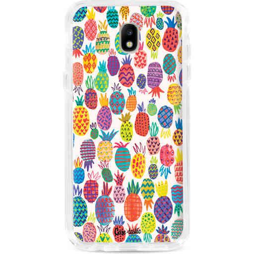Casetastic Dual Snap Case Samsung Galaxy J7 (2017) - Happy Pineapples