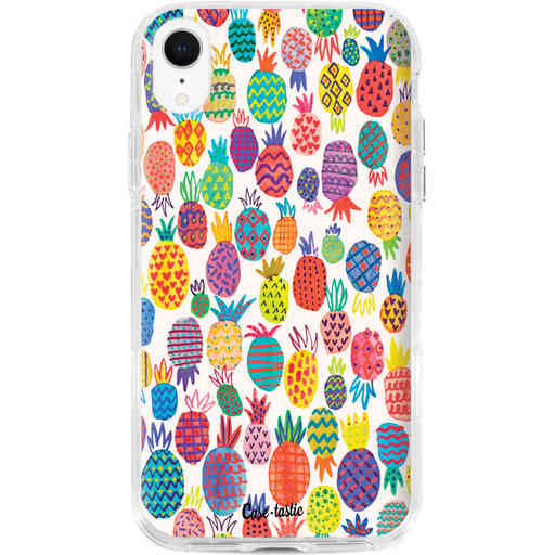 Casetastic Dual Snap Case Apple iPhone XR - Happy Pineapples