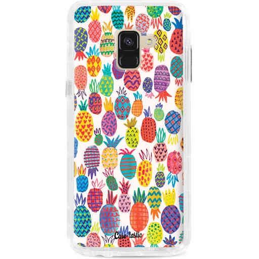 Casetastic Dual Snap Case Samsung Galaxy A8 (2018) - Happy Pineapples