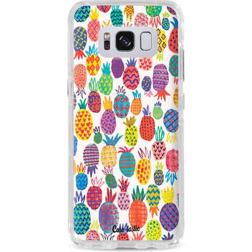 Casetastic Dual Snap Case Samsung Galaxy S8 - Happy Pineapples