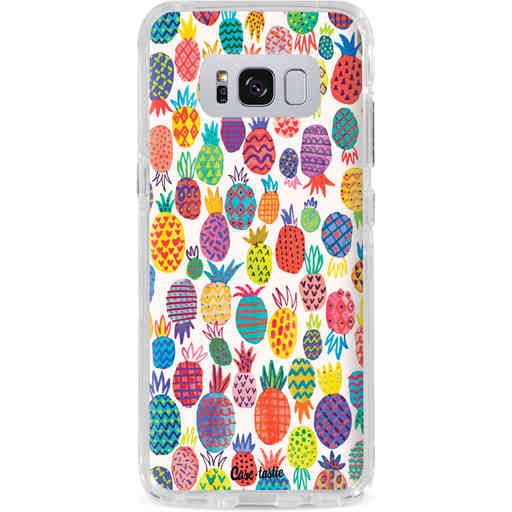 Casetastic Dual Snap Case Samsung Galaxy S8 Plus - Happy Pineapples