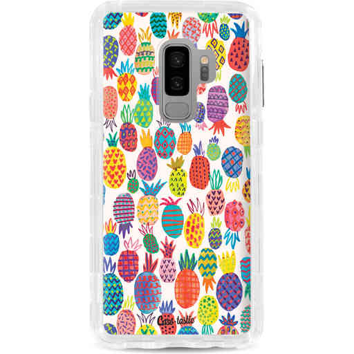 Casetastic Dual Snap Case Samsung Galaxy S9 Plus - Happy Pineapples