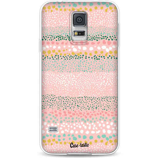 Casetastic Softcover Samsung Galaxy S5  - Lovely Dots