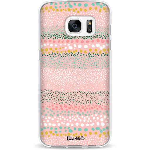 Casetastic Softcover Samsung Galaxy S7 - Lovely Dots
