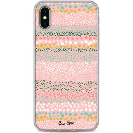 Casetastic Softcover Apple iPhone X / XS - Lovely Dots