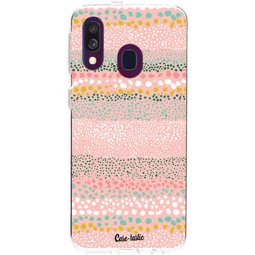 Casetastic Softcover Samsung Galaxy A40 (2019) - Lovely Dots
