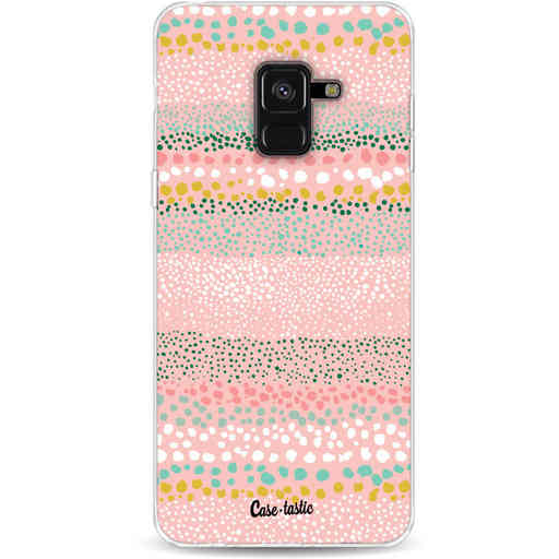 Casetastic Softcover Samsung Galaxy A8 (2018) - Lovely Dots