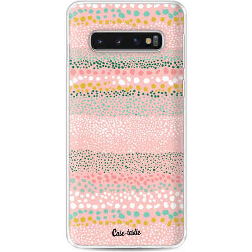Casetastic Softcover Samsung Galaxy S10 - Lovely Dots