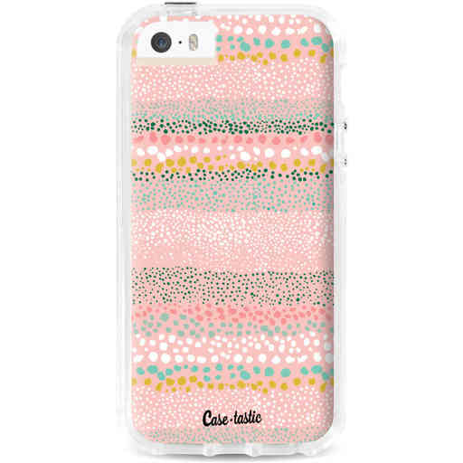 Casetastic Dual Snap Case Apple iPhone 5 / 5s / SE - Lovely Dots