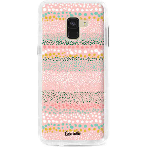Casetastic Dual Snap Case Samsung Galaxy A8 (2018) - Lovely Dots
