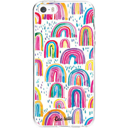 Casetastic Softcover Apple iPhone 5 / 5s / SE - Sweet Candy Rainbows