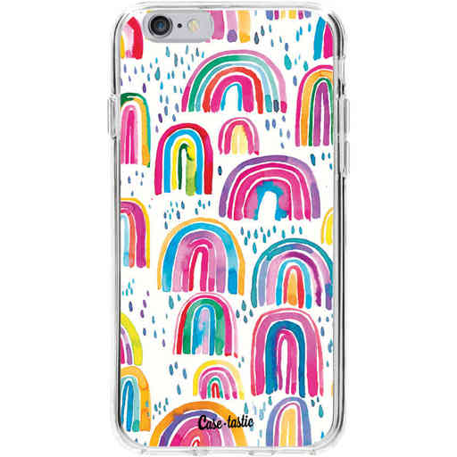 Casetastic Softcover Apple iPhone 6 / 6s - Sweet Candy Rainbows