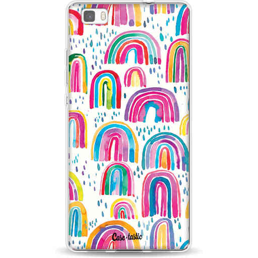 Casetastic Softcover Huawei P8 Lite - Sweet Candy Rainbows