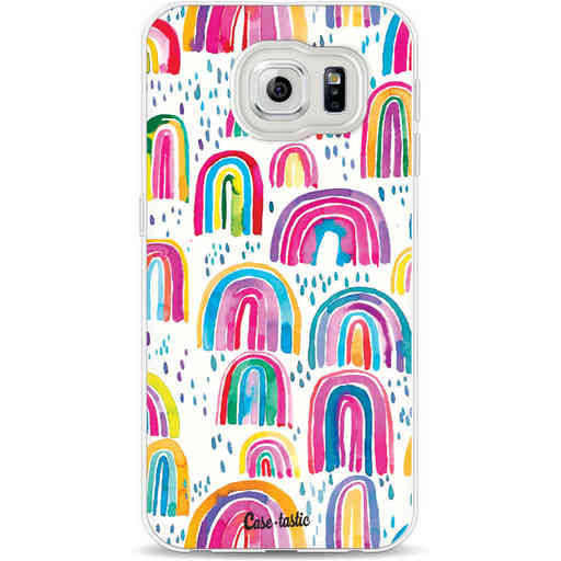 Casetastic Softcover Samsung Galaxy S6 - Sweet Candy Rainbows