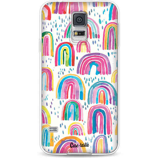 Casetastic Softcover Samsung Galaxy S5  - Sweet Candy Rainbows