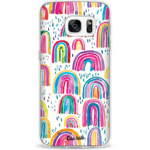 Casetastic Softcover Samsung Galaxy S7 - Sweet Candy Rainbows
