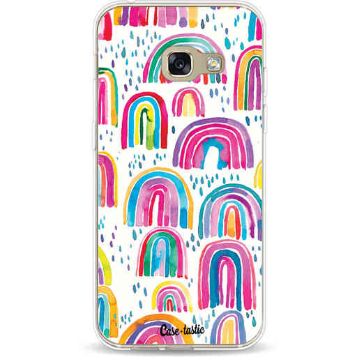 Casetastic Softcover Samsung Galaxy A3 (2017)  - Sweet Candy Rainbows