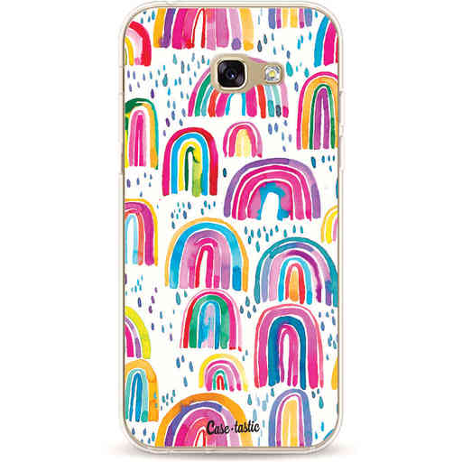Casetastic Softcover Samsung Galaxy A5 (2017) - Sweet Candy Rainbows