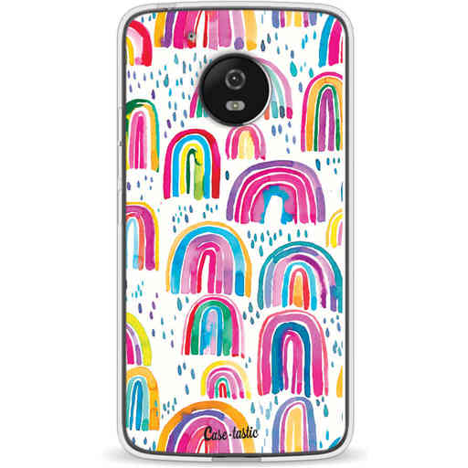 Casetastic Softcover Motorola Moto G5 - Sweet Candy Rainbows