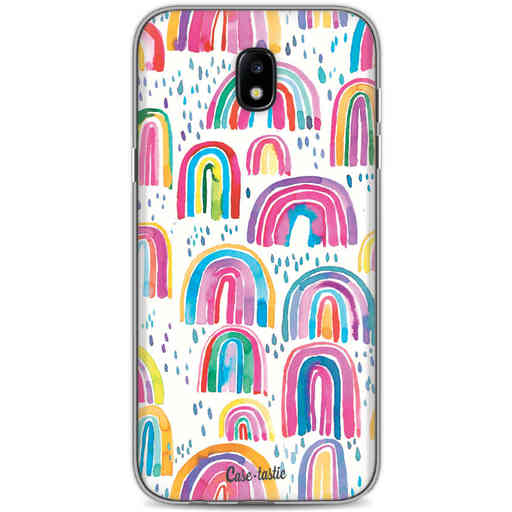 Casetastic Softcover Samsung Galaxy J5 (2017) - Sweet Candy Rainbows