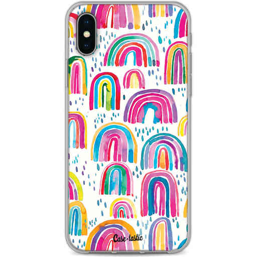 Casetastic Softcover Apple iPhone X / XS - Sweet Candy Rainbows