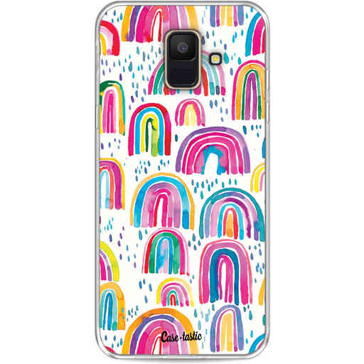 Casetastic Softcover Samsung Galaxy A6 (2018) - Sweet Candy Rainbows
