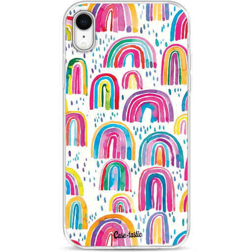 Casetastic Softcover Apple iPhone XR - Sweet Candy Rainbows