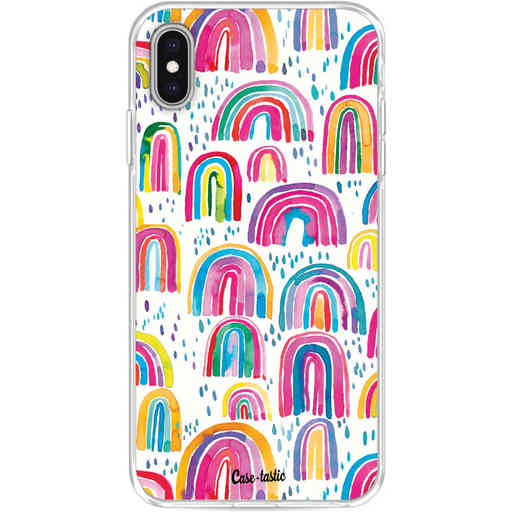 Casetastic Softcover Apple iPhone XS Max - Sweet Candy Rainbows
