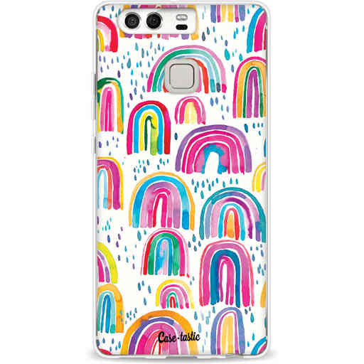 Casetastic Softcover Huawei P9 - Sweet Candy Rainbows