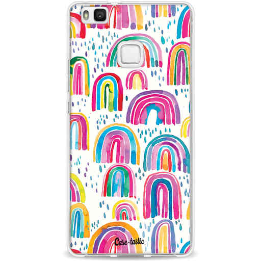 Casetastic Softcover Huawei P9 Lite - Sweet Candy Rainbows