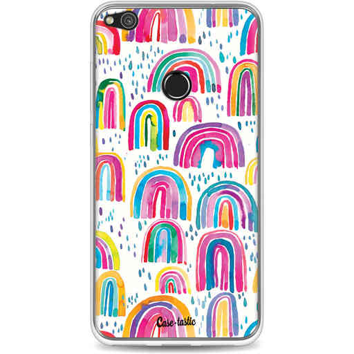 Casetastic Softcover Huawei P8 Lite (2017) - Sweet Candy Rainbows