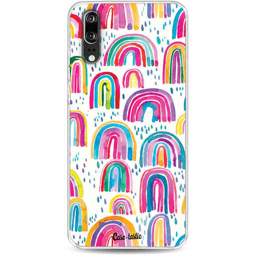Casetastic Softcover Huawei P20 - Sweet Candy Rainbows